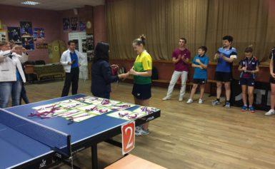 Успехи спортсменов Боровского района в настольном теннисе