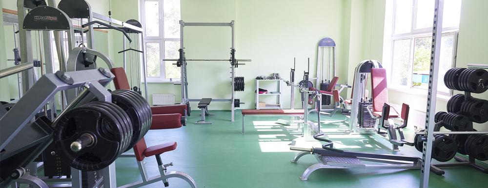 Тренажерный зал Боровской ДЮСШ «ЗВЕЗДА»