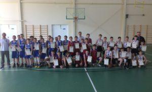 Открытое первенство Боровского района по баскетболу среди юношей 2006-2007 г.р.