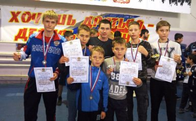 Турнир по боксу в п. Товарково