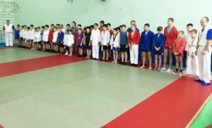 Открытый турнир Боровского района по самбо, в честь 100- летия Комсомола