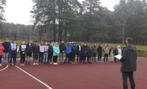 Соревнования по полиатлону в рамках 72 спартакиады школьников.