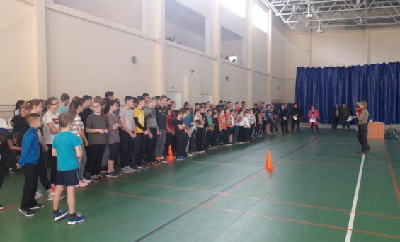Выполнение нормативов ГТО в Боровском ФОКе.