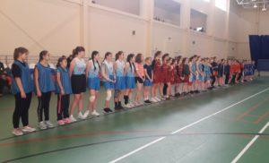 Соревнования среди девушек по баскетболу в рамках 72 спартакиады школьников
