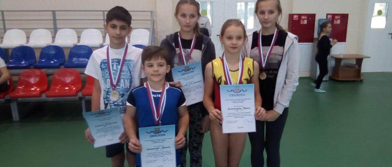 Соревнования по спортивной гимнастике в зачёт спартакиады