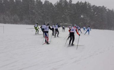 Кубок Губернатора по лыжным гонкам в Боровске.