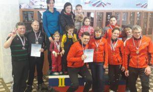 Муниципальный этап сельских спортивных зимних игр.