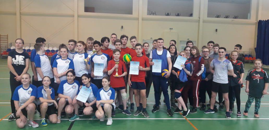 Волейбол, спартакиада (II группа)