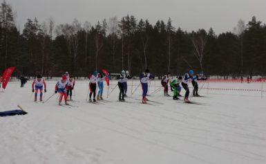 Этап Кубка Калужской области по лыжным гонкам в г. Боровске