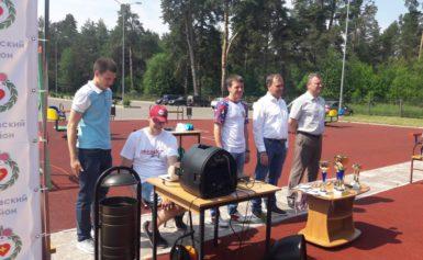 Торжественное вручение знаков ВСК ГТО сотрудникам Боровской ДЮСШ «Звезда»