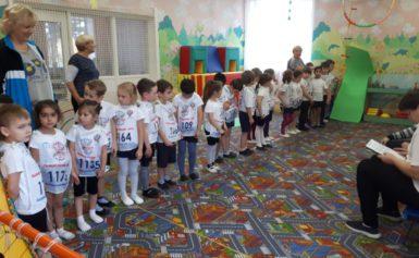ГТО в детском саду «Сказка»