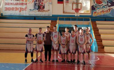 Областная спартакиада по баскетболу