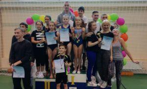 Соревнования по гимнастике в рамках спартакиады обучающихся образовательных организаций
