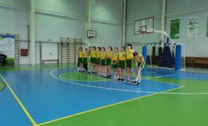 Первенство Калужской области по баскетболу среди юниорок 2002-2003 г.р.