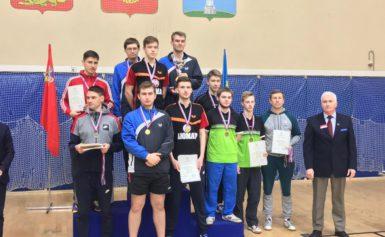 Чемпионат ЦФО по настольному теннису