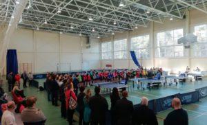 Первенство Калужской области по настольному теннису