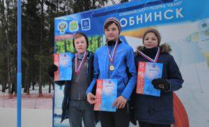 2 этап кубка Обнинска по лыжным гонкам