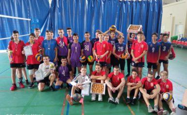 открытое Первенство Боровского района по волейболу