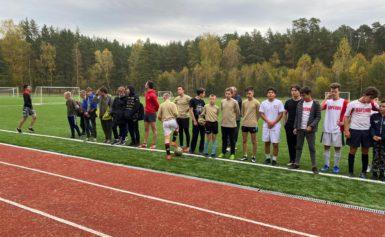 Мини-футбол в рамках спартакиады обучающихся образовательных организаций Боровского района