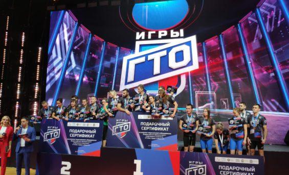 Калужская область заняла 2 место на фестивале ГТО