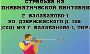 Выполнение норматива по стрельбе