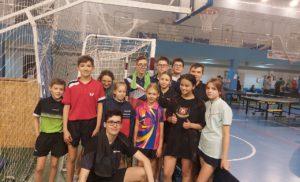 Открытый чемпионат и первенство Жуковского района по настольному теннису