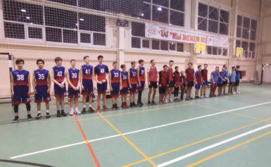 первенство Боровского района по баскетболу