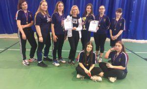 соревнования по волейболу среди девушек в рамках спартакиады