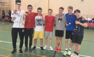 Соревнования по волейболу среди юношей в рамках спартакиады