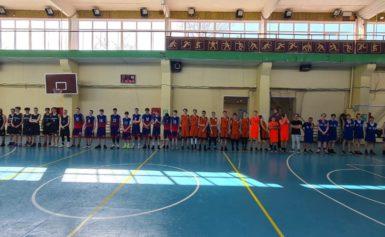 Турнир по баскетболу памяти тренера В.И. Мишина