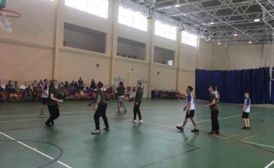 Соревнования по баскетболу среди в рамках спартакиады обучающихся образовательных организаций Боровского района во второй группе