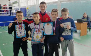 Международный турнир по боксу в городе Рославль