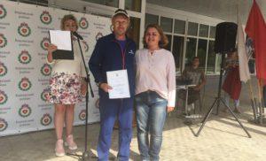 Вручение Почетных грамот и Благодарственных писем тренерам «Боровской СШ «Звезда»