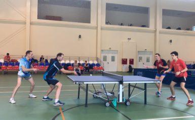 Чемпионат Боровского района по настольному теннису